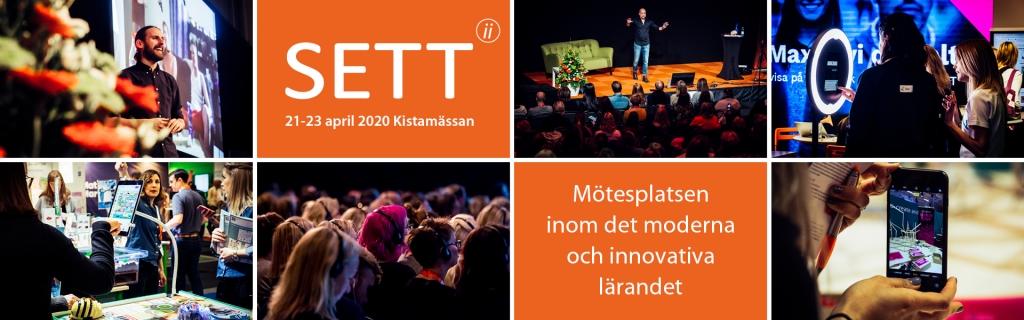 KomTek Sverige ställer ut på SETT på Kistamässan 21-23 april 2020